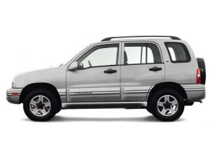 rent car kutaisi 4x4 chevrolet tracker for rent