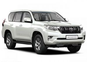 Toyota Land Cruiser Prado for rent