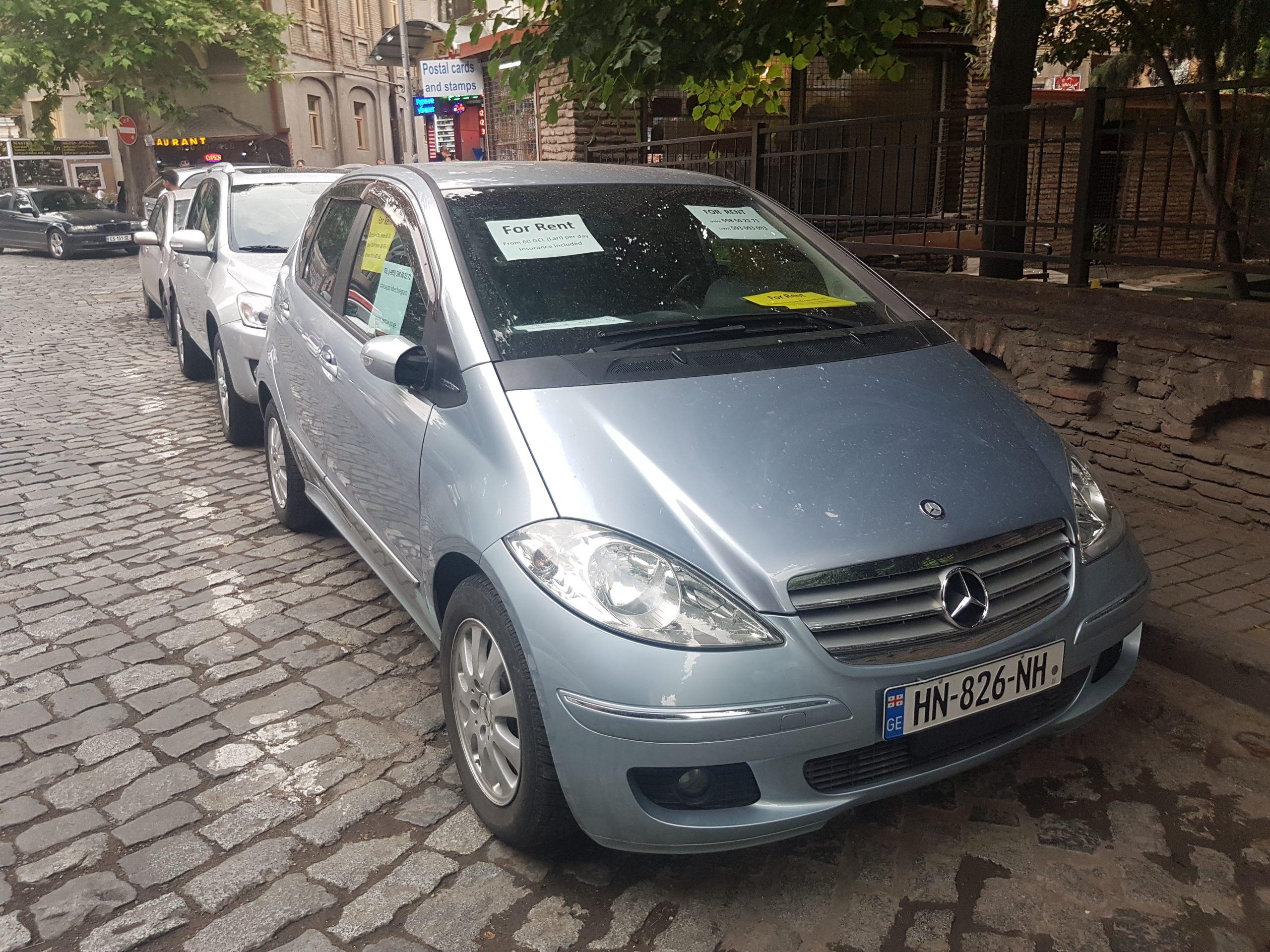 Аренда авто эконом класса в Тбилиси