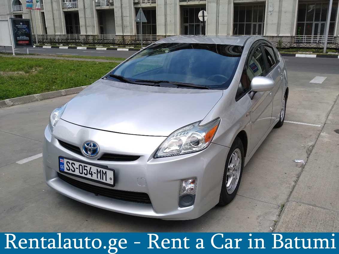 Batumi Car rental – Toyota Prius Hybrid For Rent