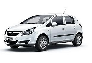 Economy car rental – Opel Corsa (manual)
